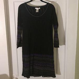 London Times Sweater Dress SZ M